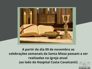 Celebrações da Santa Missa