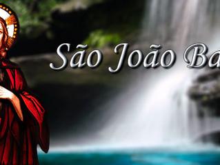 São João Batista, padroeira da Diocese de Foz