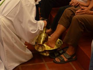 Missa Ceia do Senhor- Lava Pés