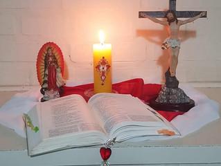 Primeiro dia da Novena de Pentecostes