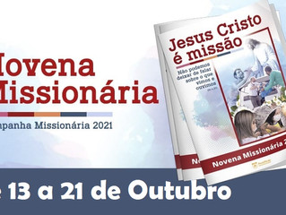 Novena Missionária na Catedral