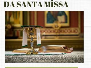 Programação da Santa Missa na Catedral e comunidades para  final de semana