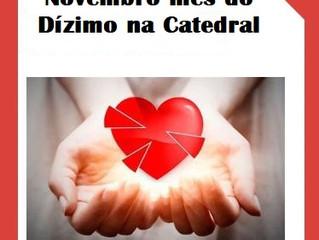 Novembro mês do dízimo na Catedral