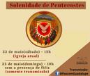 Solenidade de Pentecostes na Catedral e nas comunidades
