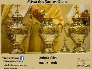 Missa do Crisma - Santos Óleos
