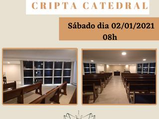 Missa na Cripta Catedral