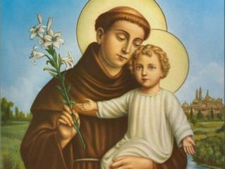 Dia 13 de junho dia de Santo Antonio