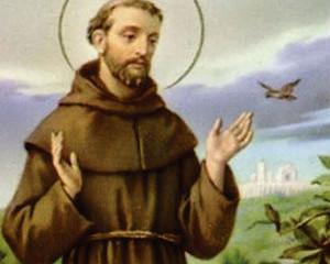 São Francisco de Assis, o mais santo dos italianos, renunciou toda a riqueza