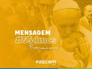 Mensagem do Papa Francisco para o 55º Dia Mundial das Comunicações Sociais