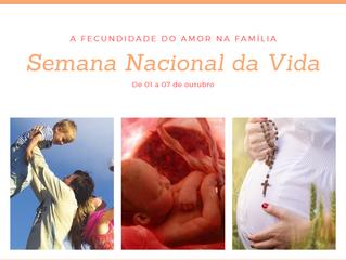 Semana Nacional da Vida na Catedral Diocesana Nossa Senhora de Guadalupe: