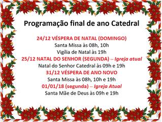 Final de ano na Catedral