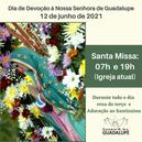 Dia 12 é Dia de Devoção à Nossa Senhora de Guadalupe