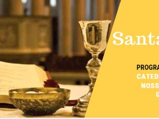 Santa Missa 22 e 23/09: Catedral Diocesana Nossa Senhora de Guadalupe e nas comunidades