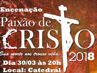 Encenação Paixão de Cristo
