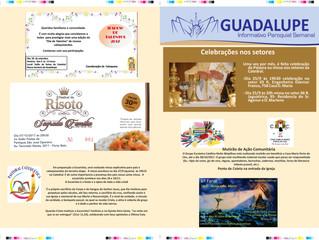 Informativo Paroquial Semanal Guadalupe