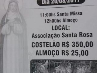 Festa Capela Santa Rosa