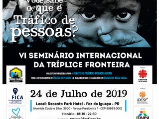 VI Seminário Internacional da Tríplice Fronteira