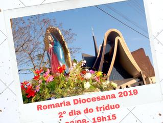 Romaria Diocesana 2019: Segundo dia do tríduo