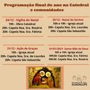Programação de final de ano na Catedral e comunidades