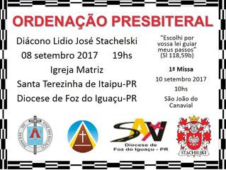 Convite: Ordenação Presbiteral