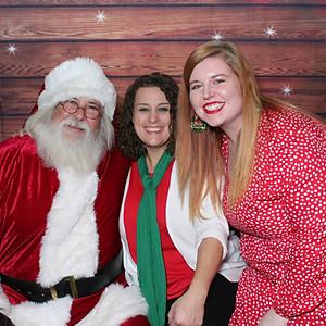 Elder Care Picture's with Santa