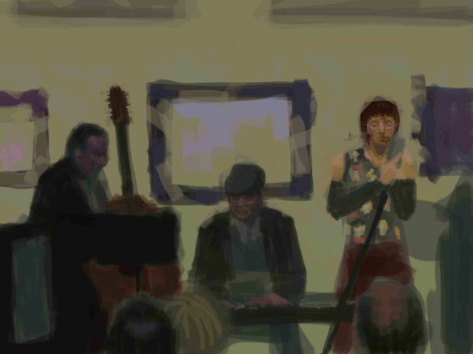 Portrait of a jazz band
