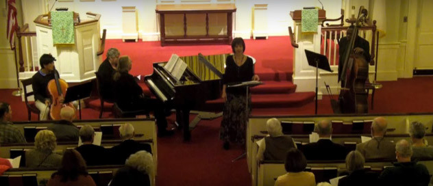 Premiering the music of a local composer