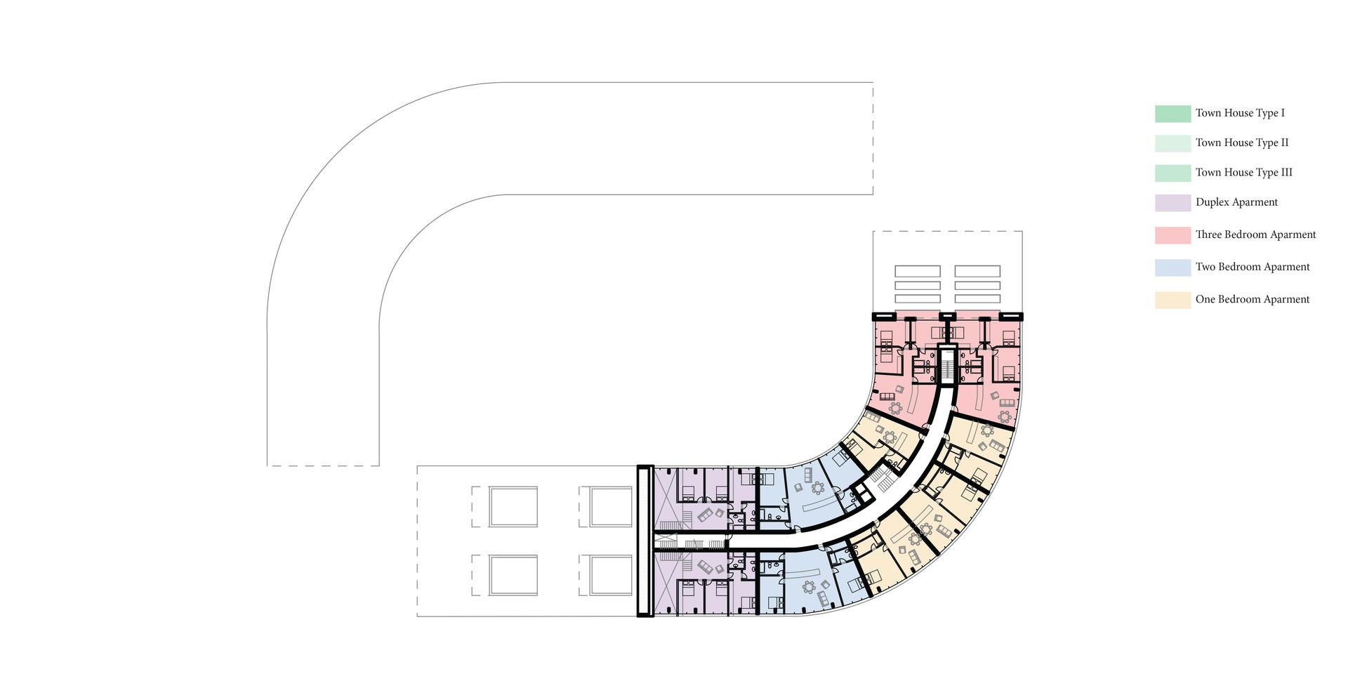 New Urban Village Christchurch Third Floor Plan