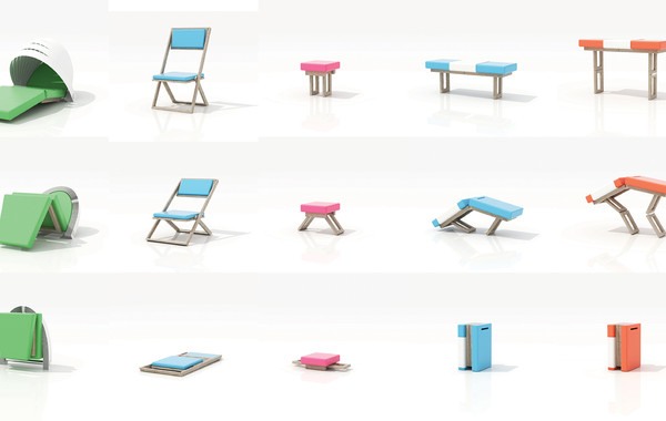 Enel Brainstoring Area - Furniture Diagrams