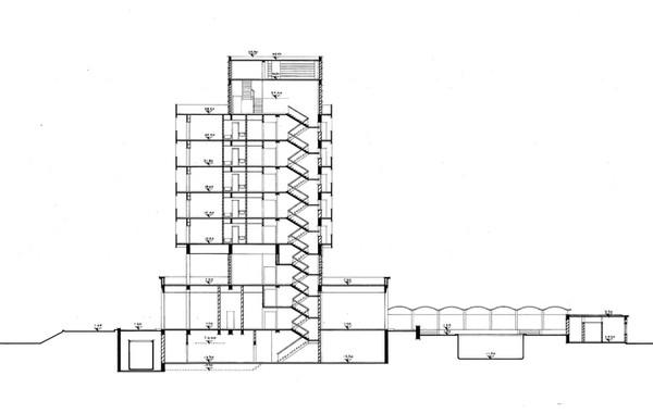 Luxor Hilton Cross Section