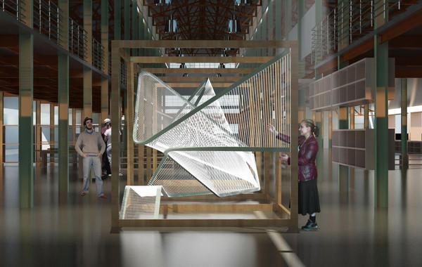 Dancing Harps Visualization