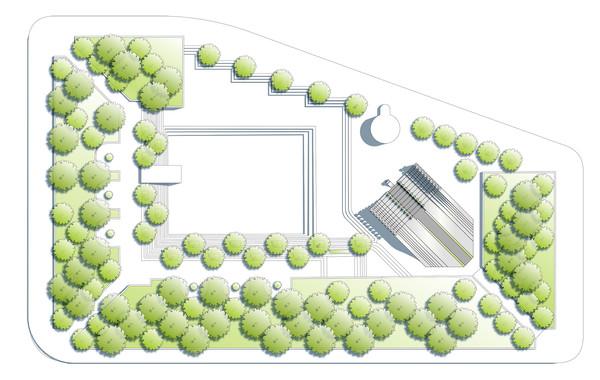 World War 1 Memorial Pershing Park Plan