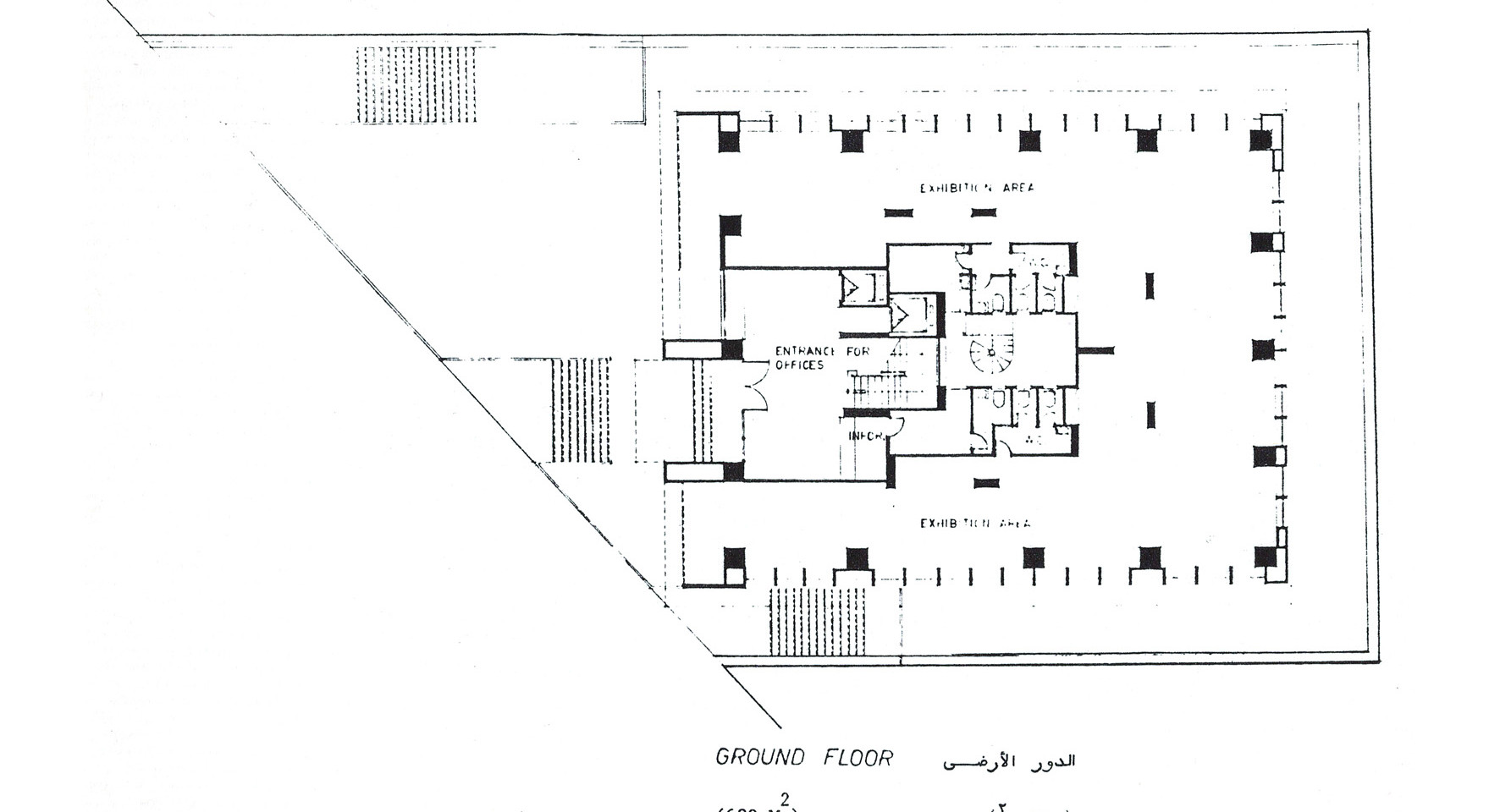 Hedico Main Office Building Ground Floor Plan