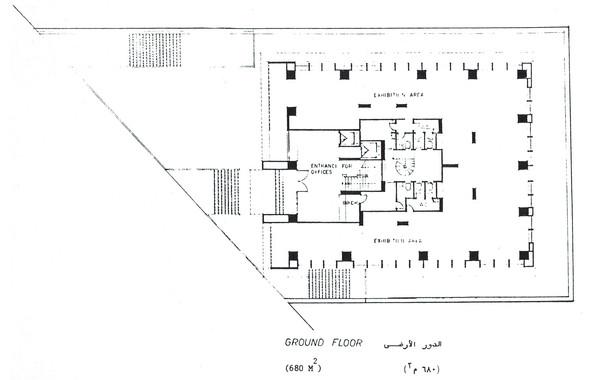 Hedico Main Office Building Ground Floor Plan