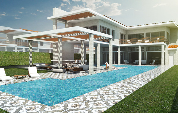 Caesar Bay 5 Bedroom Villa Perspective