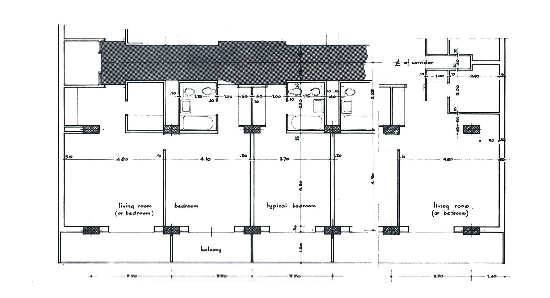 Luxor Hilton Plan Detail