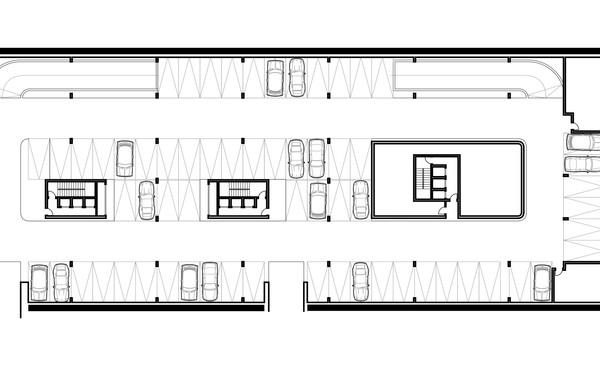 Lima Golf Tower Basement 1 Plan