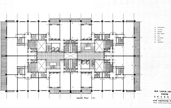 Amoudi Center Typical Residential Floor Plan