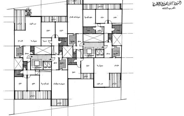 Lady Amira el Moteri Building Fourth Floor Plan