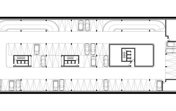 Lima Golf Tower Basement 2 Plan