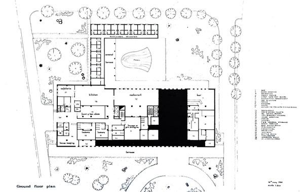 Luxor Hilton Ground Floor Plan