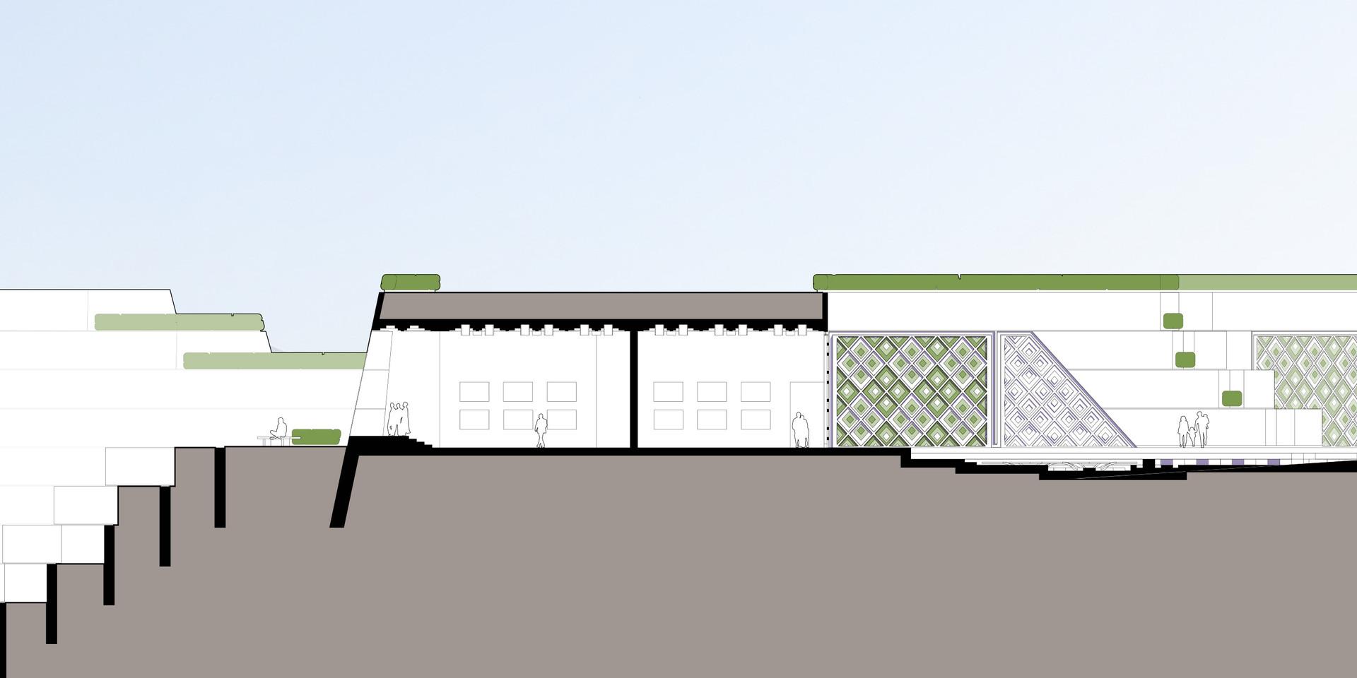 Bamiyan Cultural Center Section
