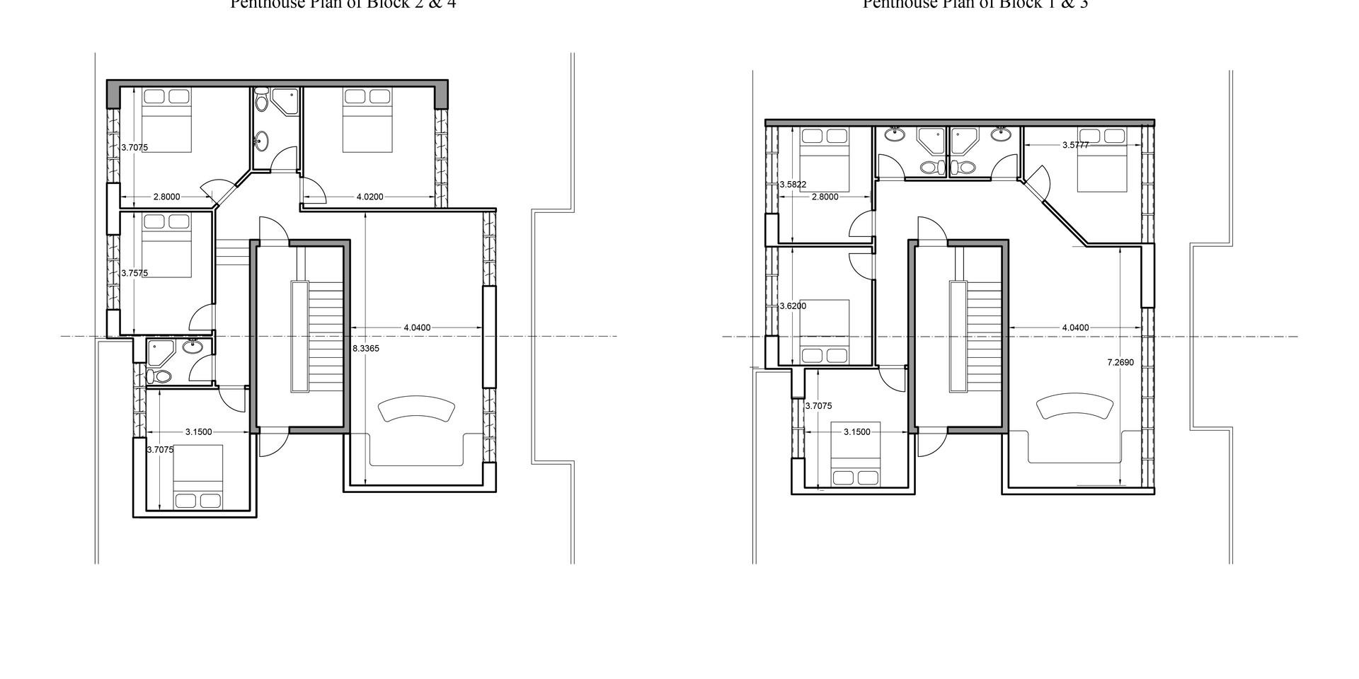 Ellebo Housing Renovation Penthouse Plan