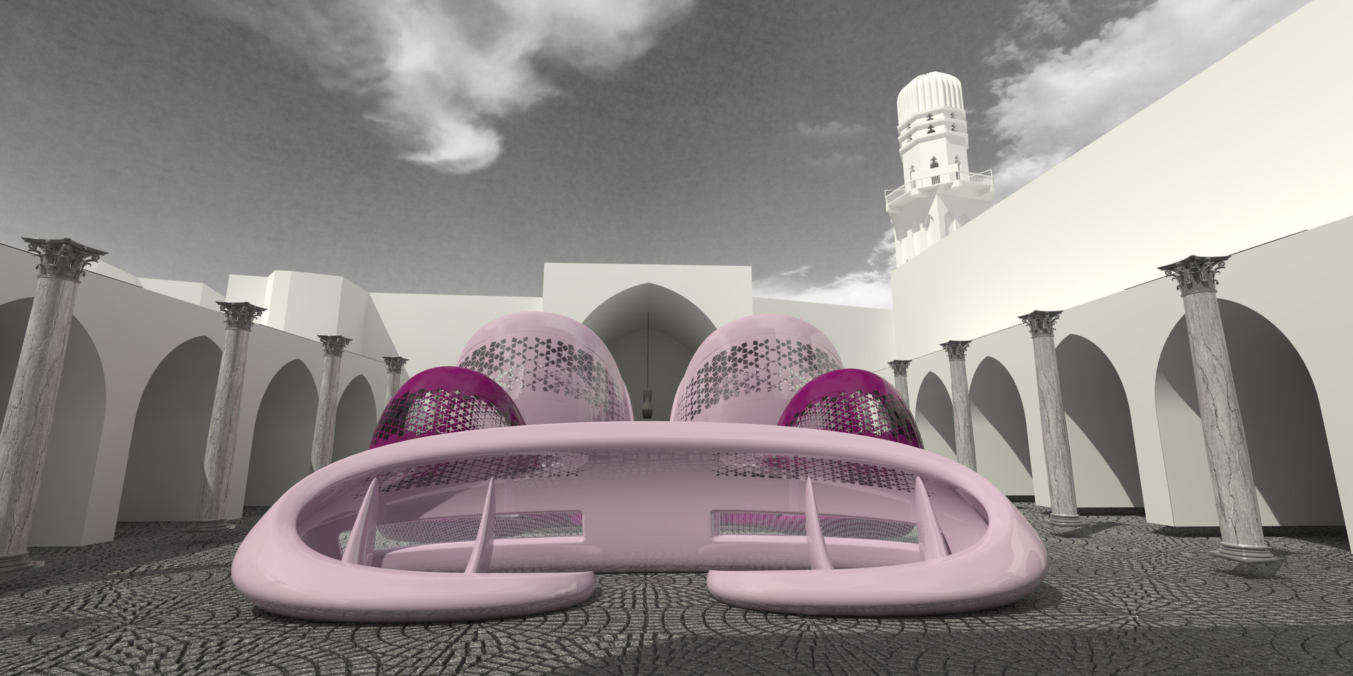 """Playscapes Site """"B"""" Pedestrian View"""
