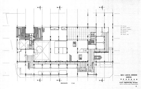 Amoudi Center Mezzanine Plan