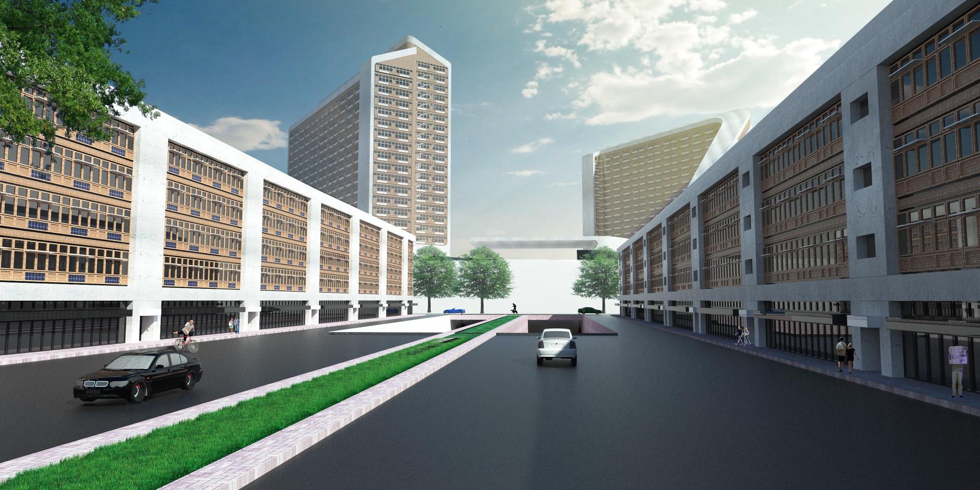 Zim Masterplan Street View