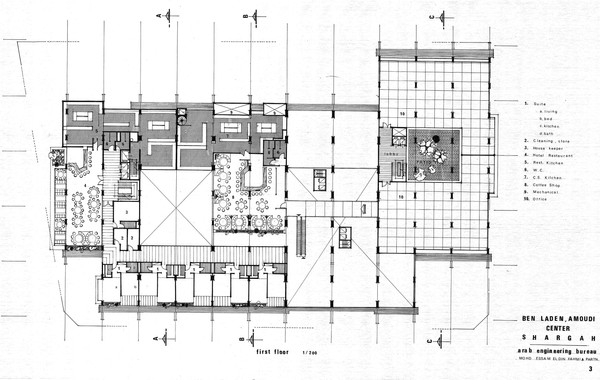 Amoudi Center First Floor Plan