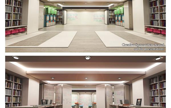 Enel Brainstoring Area - Main Space