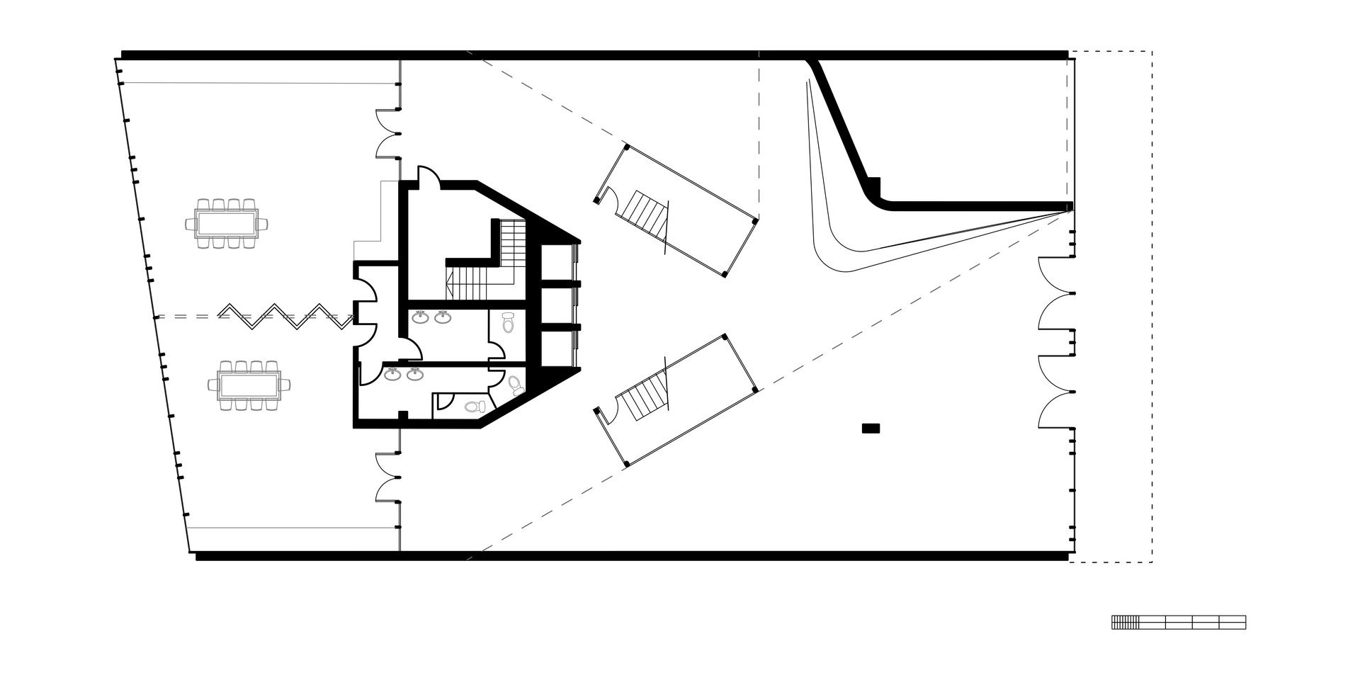 EcoOffices Ground Floor Plan