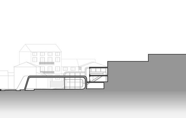 Casa de Bolero Cross Section